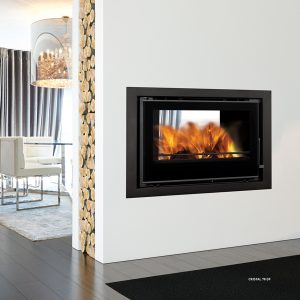 Crystal 78 Double Sided Inset Stove