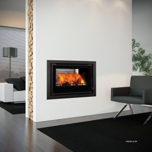 Double Sided Inset Stoves Multifuel Woodburning