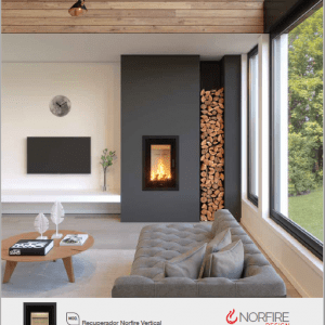 Norfire Vertical The Stove Shop